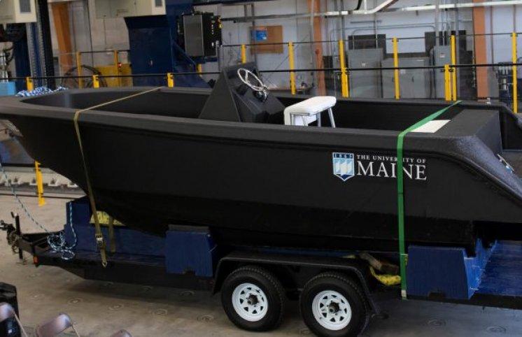 3D printerdə 2 ton ağırlığında gəmi çap edilib – 72 saata (Foto)